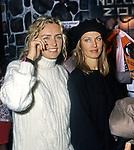 LICIA COLO' E DALILA DI LAZZARO<br /> EVENTO LAV - LEGA ANTI VIVISEZIONE<br /> ALIEN CLUB ROMA 1994