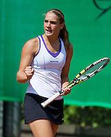 August 9, 2014, Netherlands, Rotterdam, TV Victoria, Tennis, National Junior Championships, NJK,  Isolde de Jong (NED)<br /> Photo: Tennisimages/Henk Koster