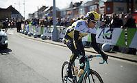 Maarten Wynants (BEL/LottoNL-Jumbo) at the start<br /> <br /> GP Samyn 2016