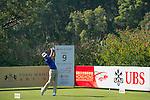 Rafael Cabrera Bello of Spain tees off the 9th hole during the 58th UBS Hong Kong Golf Open as part of the European Tour on 10 December 2016, at the Hong Kong Golf Club, Fanling, Hong Kong, China. Photo by Marcio Rodrigo Machado / Power Sport Images