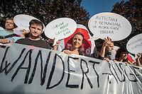 2014/09/03 Berlin | ver.di-Kundgebung für gleiche Rechte für ausl. Arbeiter