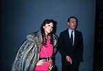 AGOSTINA BELLI CON AMEDEO D'AOSTA <br /> TEATRO PARIOLI ROMA 1984
