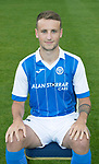 St Johnstone FC Season 2017-18 Photocall<br />Ally Gilchrist<br />Picture by Graeme Hart.<br />Copyright Perthshire Picture Agency<br />Tel: 01738 623350  Mobile: 07990 594431