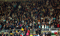 Swansea supporters during the Premier League match between Sunderland and Swansea City at the Stadium of Light, Sunderland, England, UK. Saturday 13 May 2017