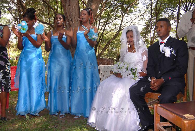 Addis Abeba, scena di matrimonio