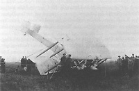 Pictured: The crash-landed aircraft in County Galway.<br />
