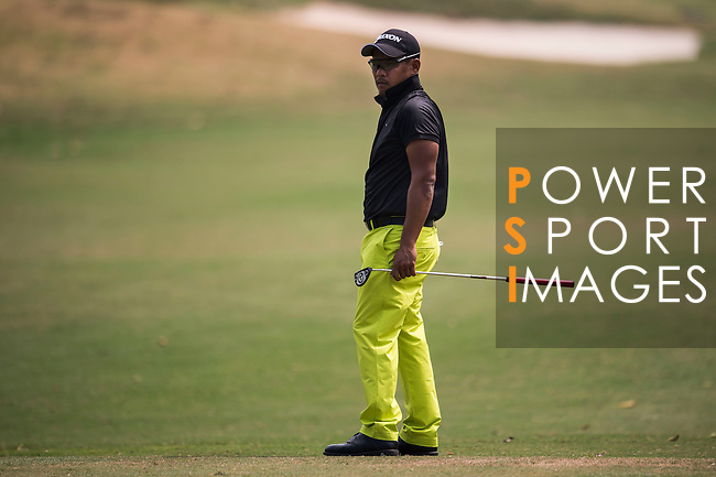 Chapchai Nirat of Thailand in action during the Venetian Macao Open 2016 at the Macau Golf and Country Club on 16 October 2016 in Macau, China. Photo by Marcio Machado / Power Sport Images