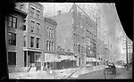 Frederick Stone negative. Bank Street. <br />Undated