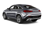 Car pictures of rear three quarter view of 2020 Mercedes Benz GLE - 5 Door SUV Angular Rear