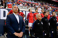 Harrison, NJ - Friday Sept. 01, 2017: Bruce Arena prior to a 2017 FIFA World Cup Qualifier between the United States (USA) and Costa Rica (CRC) at Red Bull Arena.