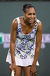 March 16, 2018: Venus Williams (USA) defeated by Daria Kasatkina (RUS) 4-6, 6-4, 7-5 in Wells Tennis Garden in Indian Wells, California. ©Mal Taam/TennisClix/CSM