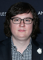 WEST HOLLYWOOD, CA, USA - NOVEMBER 06: Clark Duke arrives at the Battersea Power Station Global Launch Party held at The London Hotel West Hollywood on November 6, 2014 in West Hollywood, California, United States. (Photo by Xavier Collin/Celebrity Monitor)