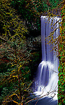Middle North Falls, Silver Springs State Park, Oregon, near Silverton.