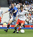 30/05/2009  Copyright  Pic : James Stewart.sct_jspa_05_rangers_v_falkirk.NEIL MCCANN GETS AWAY FROM BARRY FERGUSON.James Stewart Photography 19 Carronlea Drive, Falkirk. FK2 8DN      Vat Reg No. 607 6932 25.Telephone      : +44 (0)1324 570291 .Mobile              : +44 (0)7721 416997.E-mail  :  jim@jspa.co.uk.If you require further information then contact Jim Stewart on any of the numbers above.........