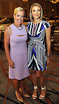 Honorees Rosemary Schatzman and Stephanie Cockrell at the annual Houston Chronicle's Best Dressed Luncheon at the Westin Galleria Hotel Tuesday April 3, 2013.(Dave Rossman photo)