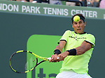 March 26 2017: Rafael Nadal (ESP) defeats Philipp Kohlschreiber (GER) by 0-6, 6-2, 6-3, at the Miami Open being played at Crandon Park Tennis Center in Miami, Key Biscayne, Florida. ©Karla Kinne/Tennisclix/Cal Sports Media