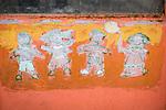 Artwork and faces along the historic streets of Veliko Tarnovo, Bulgaria
