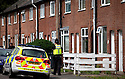 23/06/15<br /> <br /> Police guard a house where forensic officers are carrying out a search in Long Eaton, Derbyshire. It is believed to be the home of one of three men arrested after a flat fire killed three people including a young baby in North Street, Langley Mill, Derbyshire,  on Sunday. Three people were arrested for their murder this morning.<br /> <br /> All Rights Reserved - F Stop Press.  www.fstoppress.com. Tel: +44 (0)1335 418629 +44(0)7765 242650