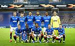 18.3.2021 Rangers v Slavia Prague: Rangers team