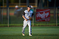 Hunter Fryzowicz (11) during the WWBA World Championship at Terry Park on October 10, 2020 in Fort Myers, Florida.  Hunter Fryzowicz, a resident of Clover, South Carolina who attends Legion Collegiate Academy High School, is committed to UNC-Asheville.  (Mike Janes/Four Seam Images)