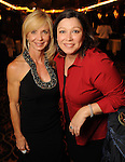 Paula Beasley and Kristin Crum at the second annual Texas Children's Cancer Center Casino Night Cruise in Kemah Friday Oct. 08, 2010. (Dave Rossman/For the Chronicle)