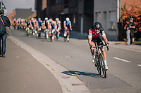 Greg Van Avermaet (BEL/BMC) trying to escape early on up the Tenbossestraat<br /> <br /> 8th Primus Classic 2018 (1.HC)<br /> 1 Day Race: Brakel to Haacht (193km / BEL)