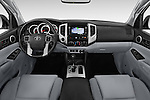 Stock photo of straight dashboard view of 2015 Toyota Tacoma TRD Pro 4 Door Pickup Dashboard