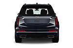 Straight rear view of a 2020 Cadillac XT6 Sport 5 Door SUV stock images
