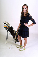 NWA Democrat-Gazette/MICHAEL WOODS • @NWAMICHAELW<br /> Girls Golfer of the Year, Kate Robertson from Bentonville, Thursday, November 19, 2016.