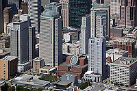 aerial photograph SFMOMA SOMA San Francisco, California