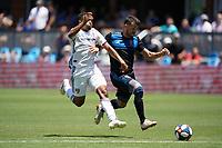 SAN JOSE, CA - JUNE 8: Vako #11 during a game between FC Dallas and San Jose Earthquakes at Avaya Stadium on June 8, 2019 in San Jose, California.