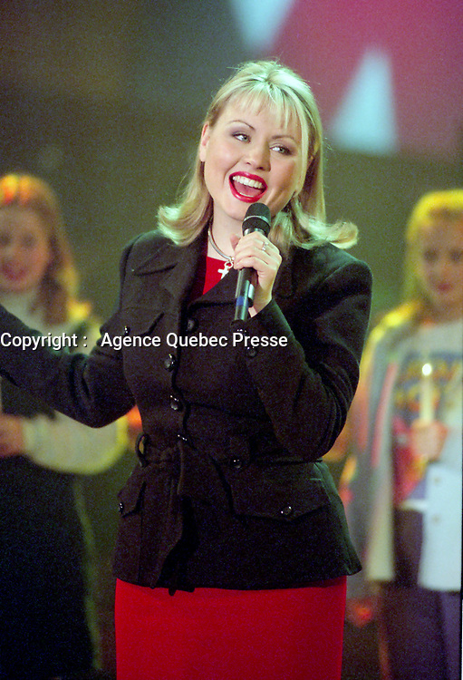 Dec 1, 1996 File Photo-<br /> Mitsou<br /> -photo (c)  Images Distribution<br /> <br />  : Mitsou