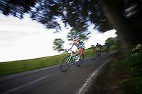 Rob Ruijgh (NLD) speeding down<br /> <br /> 2013 Ster ZLM Tour <br /> stage 4: Verviers - La Gileppe (186km)