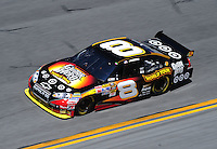 Feb 07, 2009; Daytona Beach, FL, USA; NASCAR Sprint Cup Series driver Aric Almirola during practice for the Daytona 500 at Daytona International Speedway. Mandatory Credit: Mark J. Rebilas-