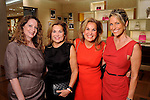 From left: Nancy Giles, Frances Jones, Florence Rutherford and Rebecca Celauro at a special evening in honor of Alley Theatre's Wild Things at the Louis Vuitton store in The Galleria Wednesday Sept. 30,2015.(Dave Rossman photo)