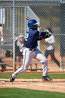 Villanova Wildcats designated hitter Emmanuel Morris (42) at bat during a game against the Dartmouth Big Green on February 27, 2016 at South Charlotte Regional Park in Punta Gorda, Florida.  Villanova defeated Dartmouth 14-1.  (Mike Janes/Four Seam Images)