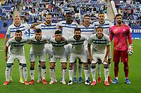 22nd September 2021: RCDE Stadium, Barcelona, Spain: La Liga Football, Espanyol versus Atletico Madrid;  Alaves line up