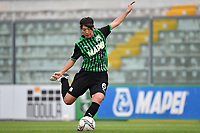 Mana Mihashi of Sassuolo shoots a free kick during the women Serie A football match between US Sassuolo and Hellas Verona at Enzo Ricci stadium in Sassuolo (Italy), November 15th, 2020. Photo Andrea Staccioli / Insidefoto