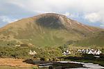Countryside around Lochranza on the Isle of Arran, Scotland