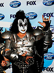 Kiss - Gene Simmons  at the 2009 American Idol Finale at the Nokia Theatre in Los Angeles, May 20th 2009..Photo by Chris Walter/Photofeatures