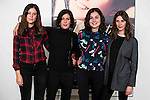 "Nadia de Santiago and Barbara Santa Cruz attends to the photocall of the presentation of the ""Ninette y un señor de Murcia"" theater play at Fernan Gomez theater in Madrid, Spain, January 14, 2016<br /> (ALTERPHOTOS/BorjaB.Hojas)"