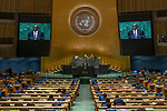 General Assembly Seventy-third session, 14th plenary meeting<br /> <br /> <br /> His Excellency Sidiki KABA Minister for Foreign Affairs and of Senegalese Living abroad of Senegal
