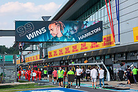99 wins for HAMILTON Lewis (gbr), Mercedes AMG F1 GP W12 E Performance, portrait during the Formula 1 Pirelli British Grand Prix 2021, 10th round of the 2021 FIA Formula One World Championship from July 16 to 18, 2021 on the Silverstone Circuit, in Silverstone, United Kingdom - <br /> Formula 1 GP Great Britain Silverstone 18/07/2021<br /> Photo DPPI/Panoramic/Insidefoto <br /> ITALY ONLY