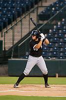 AZL White Sox catcher Jose Colina (39) at bat against the AZL Angels on August 14, 2017 at Diablo Stadium in Tempe, Arizona. AZL Angels defeated the AZL White Sox 3-2. (Zachary Lucy/Four Seam Images)