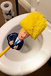Boris Johnson Bog brush and loo roll