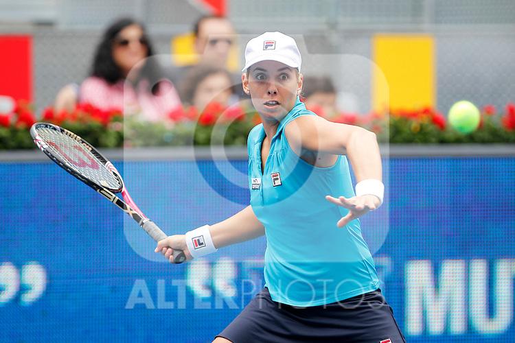 Marina Erakovic during Madrid Open Tennis 2012 Match.May, 7, 2012(ALTERPHOTOS/ALFAQUI/Acero)