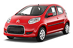 Front three quarter view of a 2009 - 2012 Citroen C1 Airplay 5-Door Micro Car Hatchback Stock Photo
