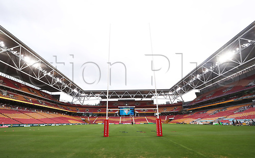 7th November 2020, Brisbane, Australia; Tri Nations International rugby union, Australia versus New Zealand;  General view of  Suncorp Stadium, Brisbane