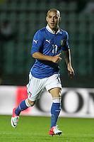 "Giuseppe De Luca.Siena 13/11/2012 Stadio ""Franchi"".Football Calcio Nazionale U21.Italia v Spagna.Foto Insidefoto Paolo Nucci."