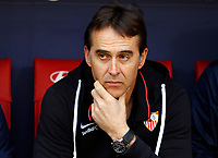 Sevilla FC's coach Julen Lopetegui before La Liga match. Mar 07, 2020. (ALTERPHOTOS/Manu R.B.)<br /> Liga Spagna 2019/2020 <br /> Atletico Madrid - Sevilla <br /> Foto Manu Reino / Alterphotos / Insidefoto <br /> ITALY ONLY<br /> Liga Spagna 2019/2020 <br /> Atletico Madrid - Sevilla <br /> Foto Manu Reino / Alterphotos / Insidefoto <br /> ITALY ONLY